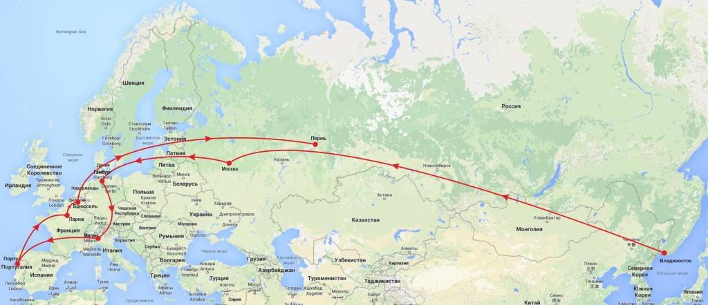Карта рус
