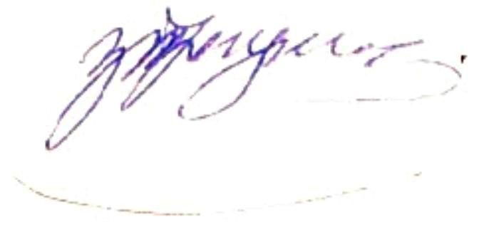 Трегулова подпись