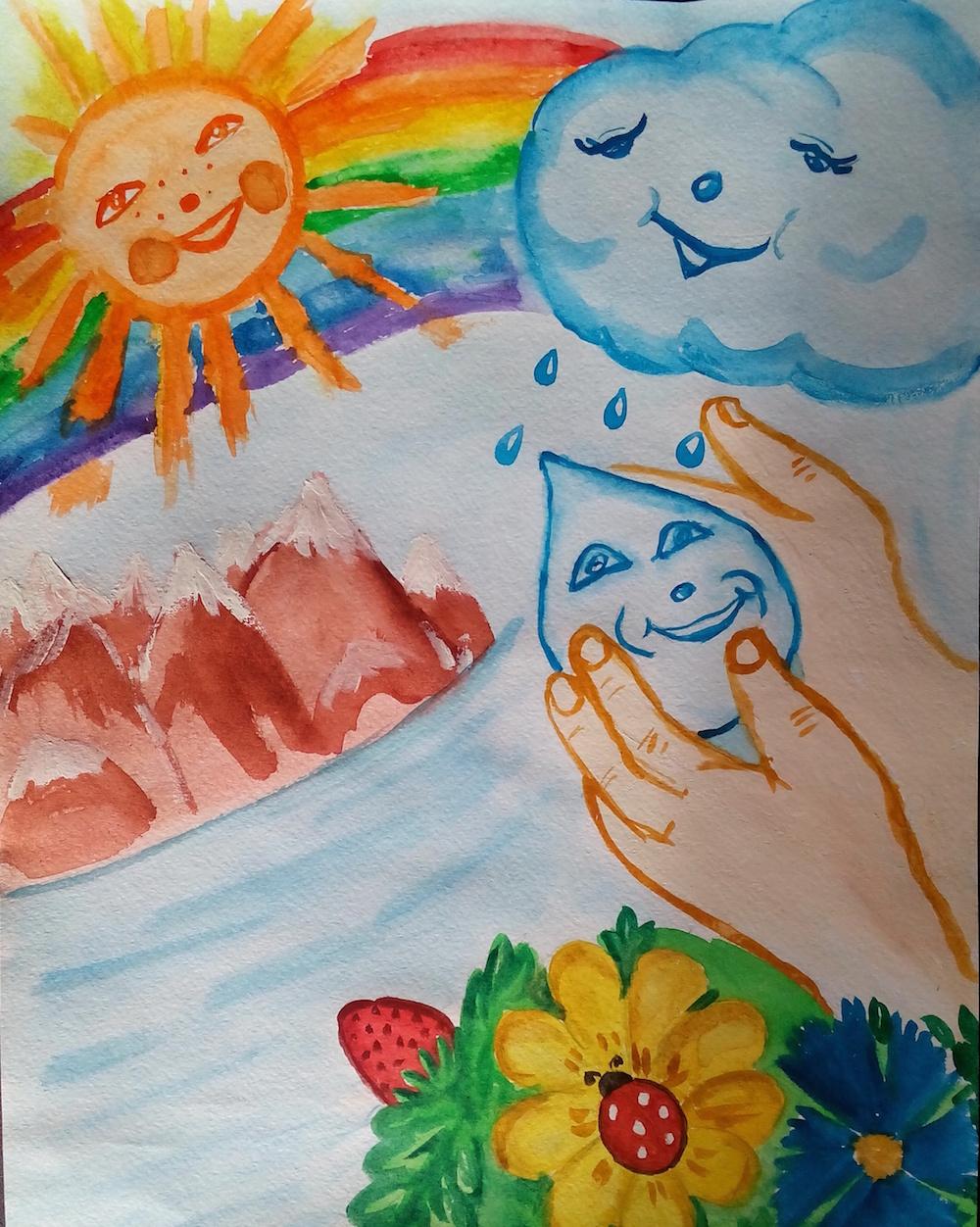 Новосёлова Ксения.Сохраним воду на планете!