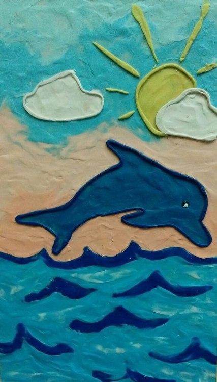 Поварова Дарья дельфин